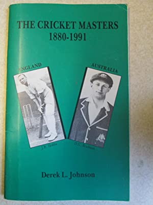 Cricket Masters, 1890-1991: England v.Australia (Signed By Author)
