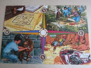 Mystery Jigsaw Puzzle Game. The Famous Five. Five on Treasure Island.