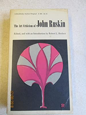The Art of Criticism of John Ruskin