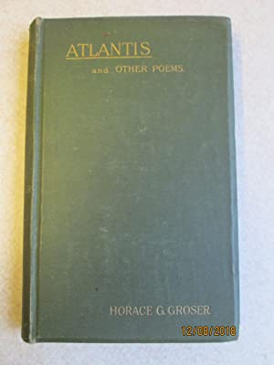 Atlantis and Other Poems (Signed By Author + Letter)