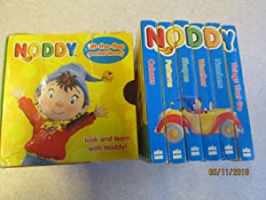 Noddy. 'Lift the Flap Pocket Library' Look & Learn: Things That Go. Numbers. Weather. Shapes. Pat...