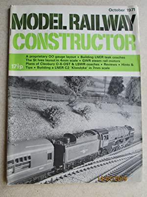 Model Railway Constructor Vol. 38 No. 450. October 1971