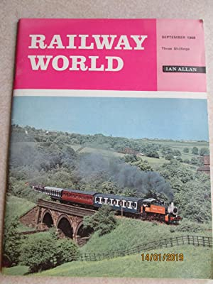 Railway World. September 1968 Vol 29 No 340