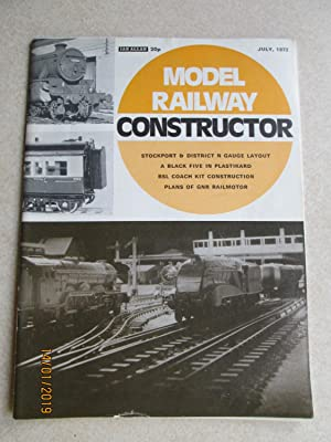 Model Railway Constructor Vol. 39 No. 459. July 1972