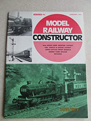 Model Railway Constructor Vol. 39 No. 453. January 1972