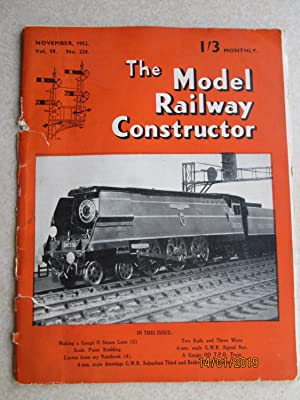The Model Railway Constructor Vol. 19 No. 224.November 1952