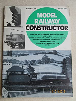 Model Railway Constructor Vol. 39 No. 455. March 1972