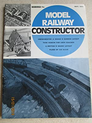 Model Railway Constructor Vol. 39 No. 457. May 1972