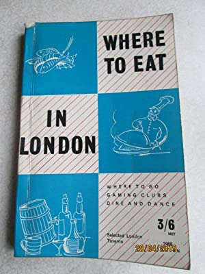 Where To Eat in London 1968