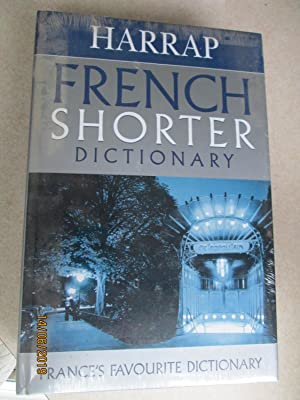 Harrap French Shorter Dictionary (6th Edition - New)