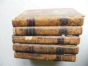 Sternes Sermons Vol 1-5: Laurence Sterne