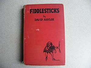 Fiddlesticks. 1927 First Edition