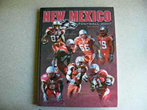 New Mexico Football 2007 Signed By Coach Rocky Long