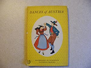 Dances of Austria 1948 First Edition