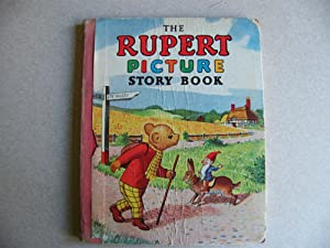 The Rupert Picture Story Book 1952 1st Edition
