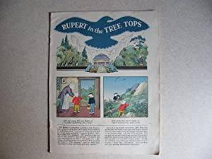 Rupert In The Tree Tops - 1952 Comic