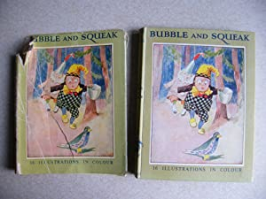Bubble & Squeak 1915 DJ Rare Childrens Book: Harry Golding