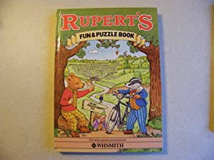 Ruperts Fun & Puzzle Book - WHS Smith Exclusive 1983