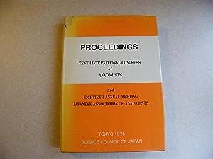 Proceedings Tenth International Congress of Anatomists 1975: Editor: Eichi Yamada