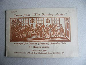Tunes from The Dancing Master. Descant (Suprano) Recorder Solo: Arranged By: Monica Dewey