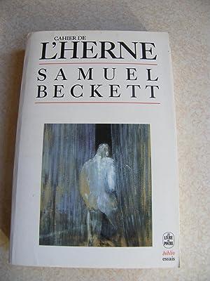 Cahier De L'Herne: Samuel Beckett