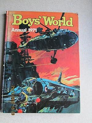 Boys' World Annual 1971: Various