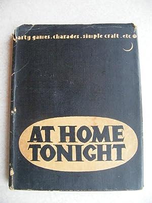 At Home Tonight.: Herbert McKay