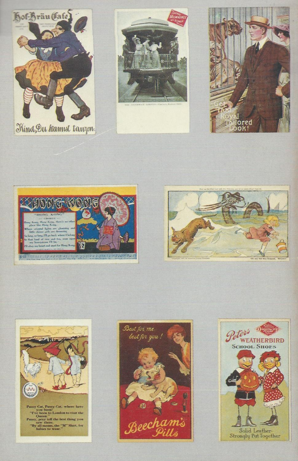 American Advertising Postcards: Sets and