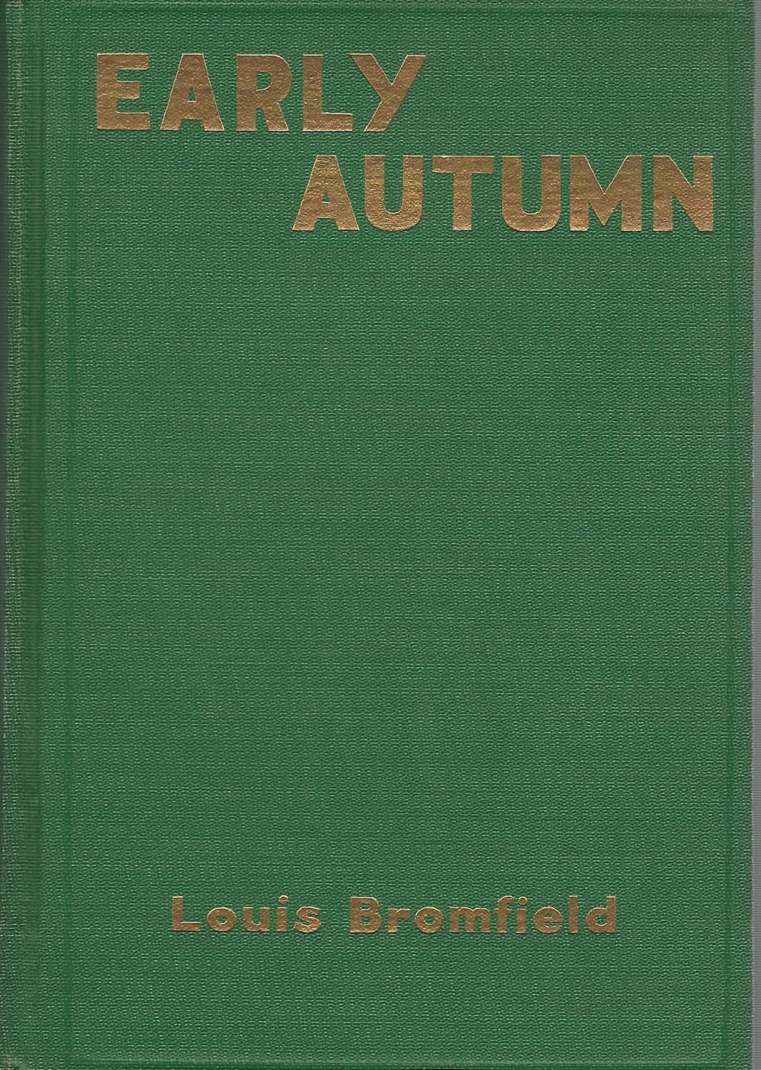 Image result for louis bromfield early autumn