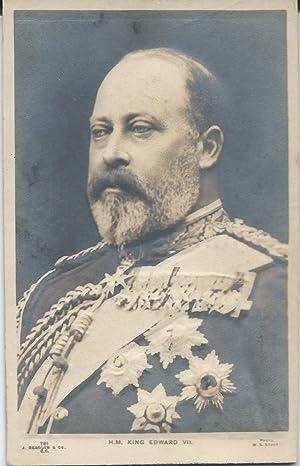 H.M. King Edward VII, 1910 Embossed Real