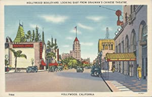 Hollywood Boulevard, Looking East from Grauman's Chinese