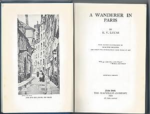 A Wanderer in Paris: E. V. Lucas