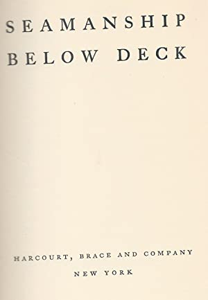 Seamanship Below Deck: Ruth Brindze