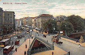 Potsdamer Brucke, Berlin, Germany, early postcard, unused