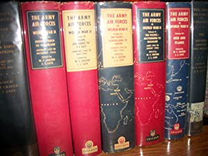 The Army Air Forces In World War II (6 Volumes): Wesley F. Craven and James Lea Cate (Editors)