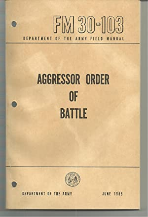 FM 30-103 Aggressor Order of Battle: Department of The Army