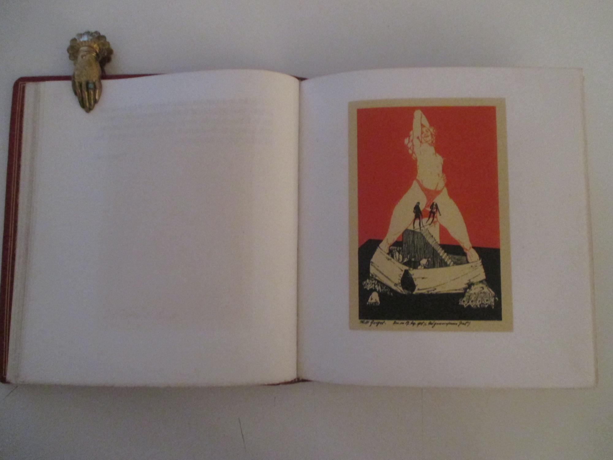 Das gemeinsame Ziel und Anderes. Ein Zyklus erotischer Zeichnungen. Mit einleitenden Worten aus der totenmesse von Stanislaw Przybyszewski.