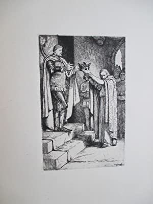 Zwanzig Radierungen zu Shakespeares Werken. (Twinty etching for the works of Shakespeare)