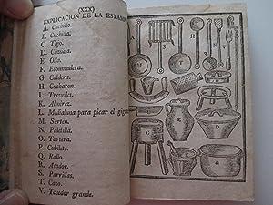 Nuevo arte de cocina, sacado de la: Cocina - Altamiras,