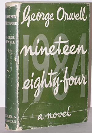 Nineteen eighty-four A Novel: ORWELL, George: