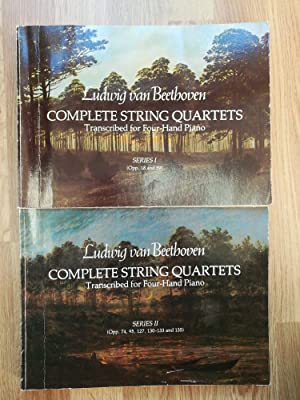 Complete String Quartets, Transcribed for Four-Hand Piano / Transcription by Hugo Ulrich and Robe...