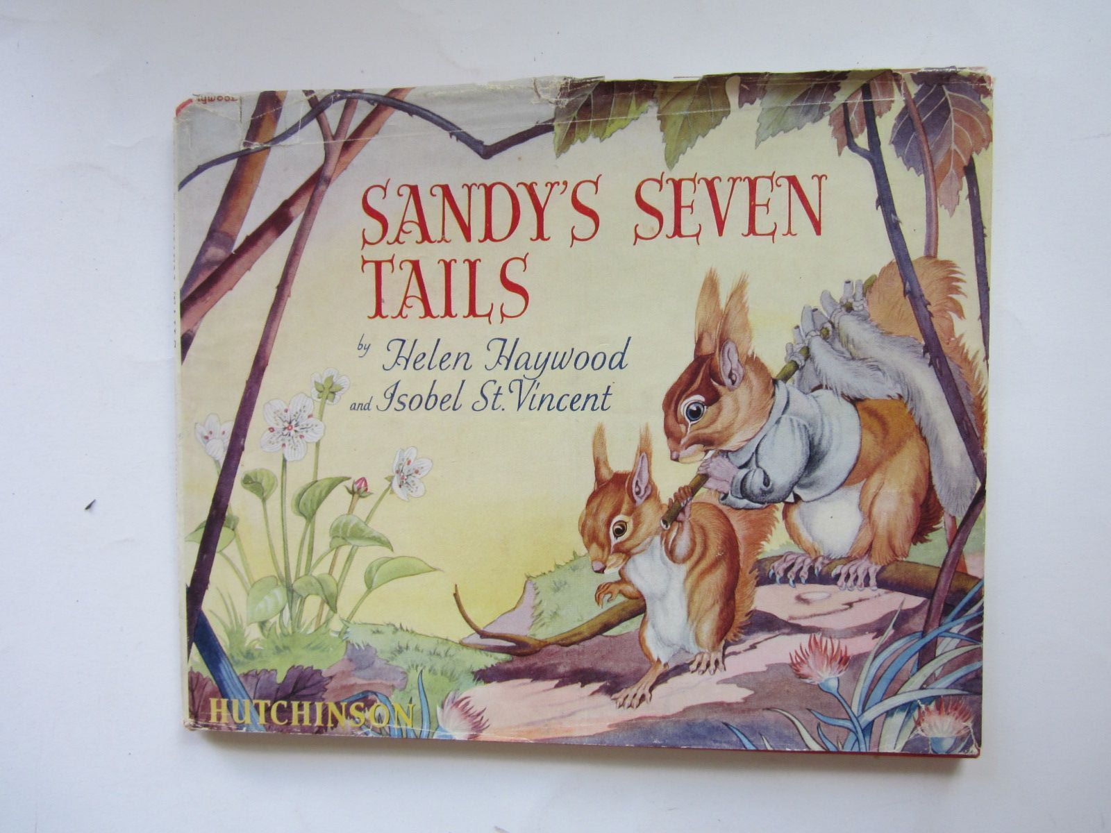 Sandy S Seven Tails By Haywood Helen St Vincent Isobel