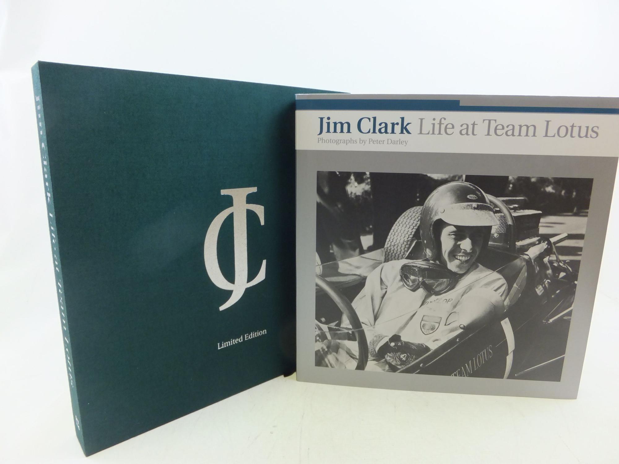 JIM CLARK LIFE AT TEAM LOTUS: Darley, Peter