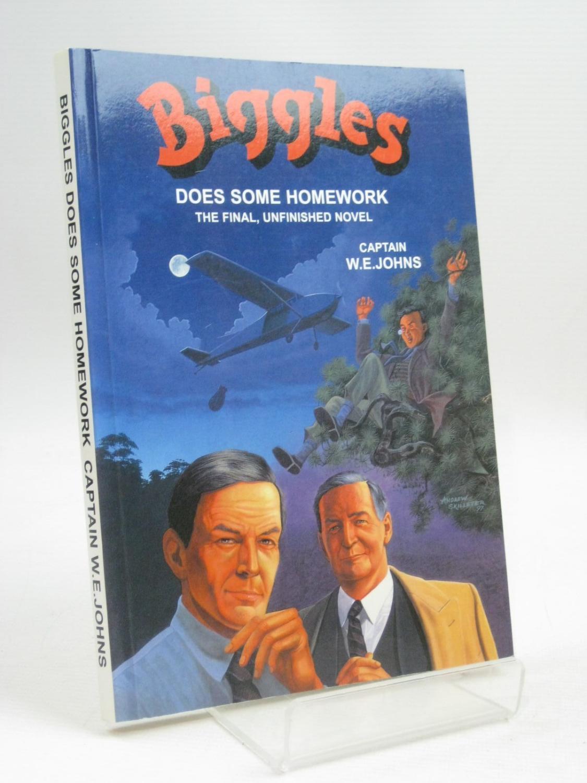 Biggles does some homework