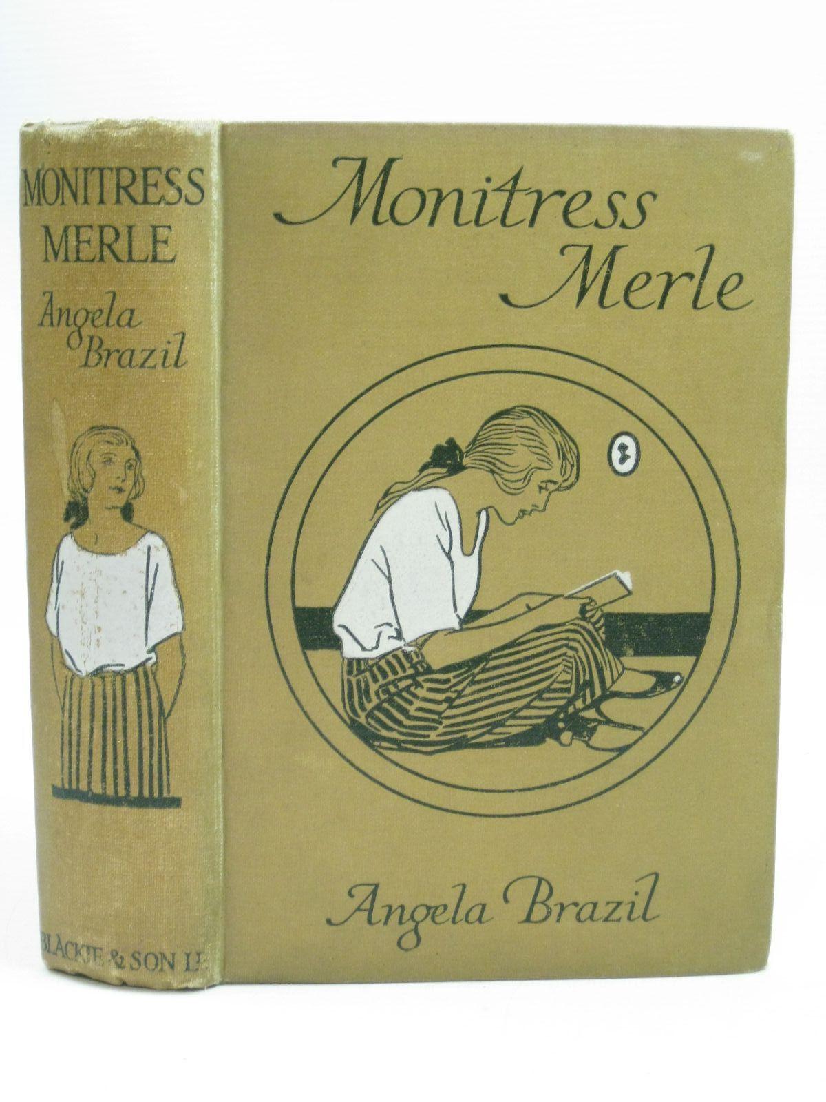 MONITRESS MERLE Brazil, Angela Very Good Hardcover