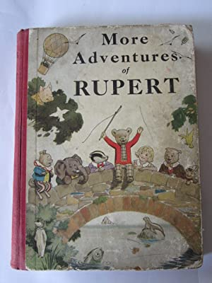 RUPERT ANNUAL 1937 - MORE ADVENTURES OF: Bestall, Alfred