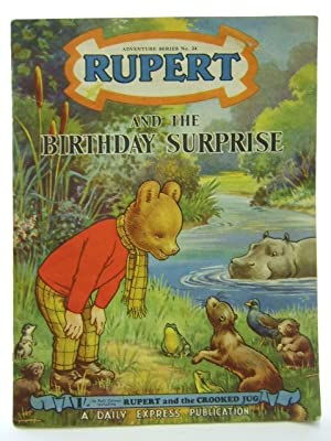 RUPERT ADVENTURE SERIES No. 24 - RUPERT AND THE BIRTHDAY SURPRISE: Bestall, Alfred