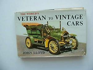 THE WORLD'S VETERAN TO VINTAGE CARS: Lloyd, John