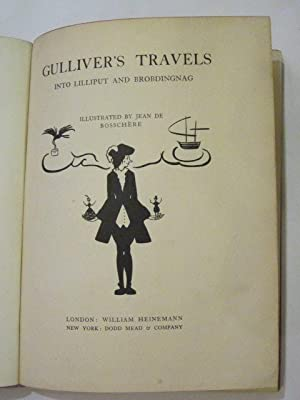 GULLIVER'S TRAVELS INTO LILLIPUT AND BROBDINGNAG: Swift, Jonathan