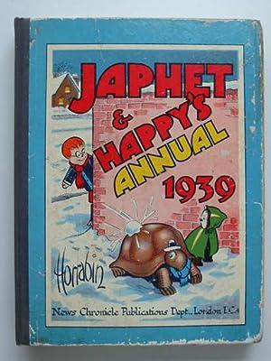 JAPHET AND HAPPY'S ANNUAL 1939: Horrabin, J.F.